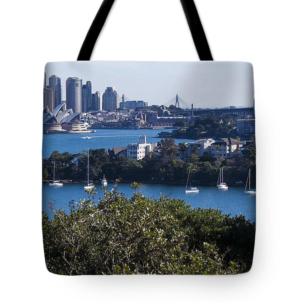 Australia Tote Bag featuring the photograph Sydney Harbour by Steven Ralser