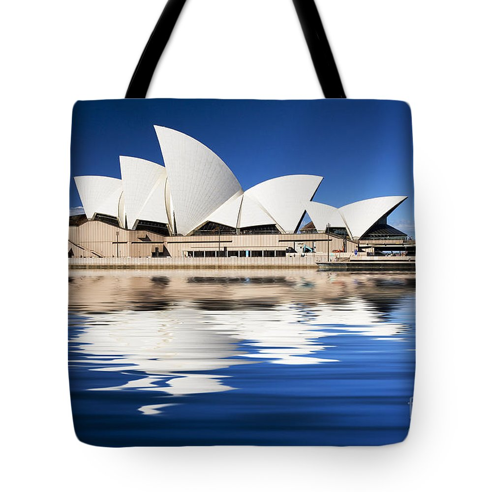 Sydney Opera House Tote Bag featuring the photograph Sydney Icon by Sheila Smart Fine Art Photography