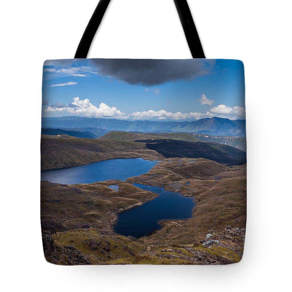 Kahurangi Tote Bag featuring the photograph Sylvester Lakes In Kahurangi National Park Nz by Stephan Pietzko