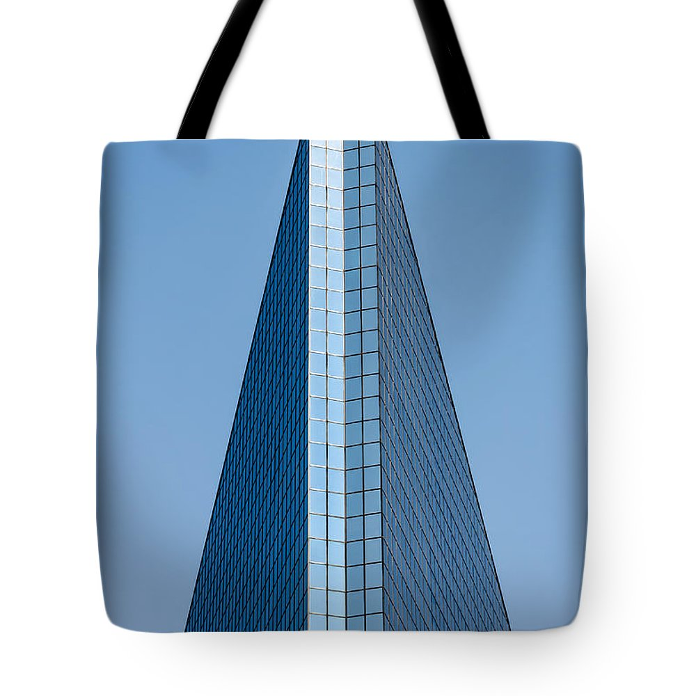 City Tote Bag featuring the photograph Symmetrical Skyscraper by Jess Kraft