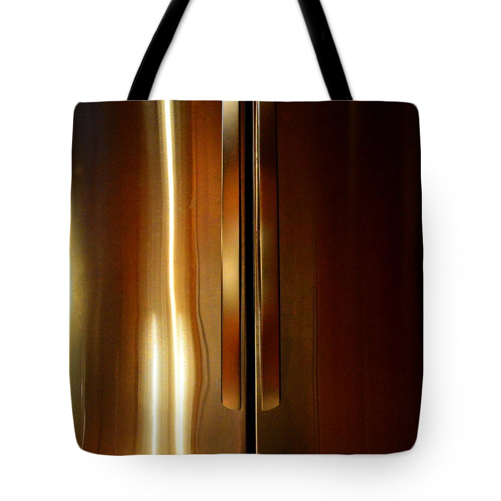Newel Hunter Tote Bag featuring the photograph Symmetry 2 by Newel Hunter