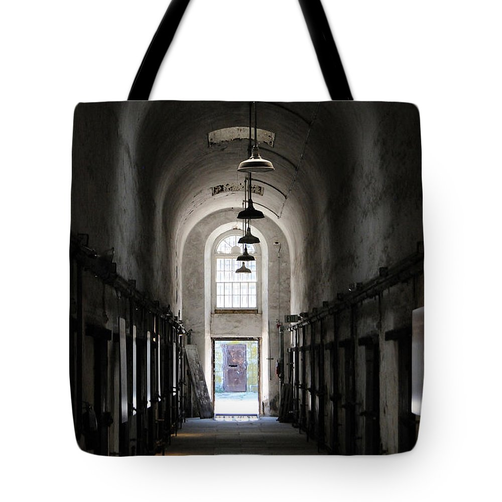 Architectural Tote Bag featuring the photograph Symmetry by Cindy Roesinger