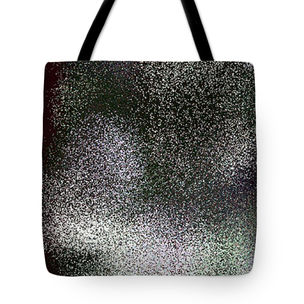 Abstract Tote Bag featuring the digital art T.1.52.4.1x3.1706x5120 by Gareth Lewis