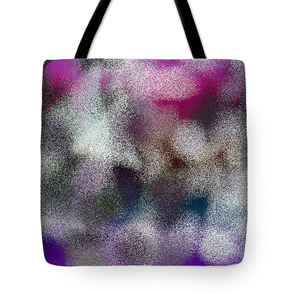 Abstract Tote Bag featuring the digital art T.1.55.4.3x2.5120x3413 by Gareth Lewis