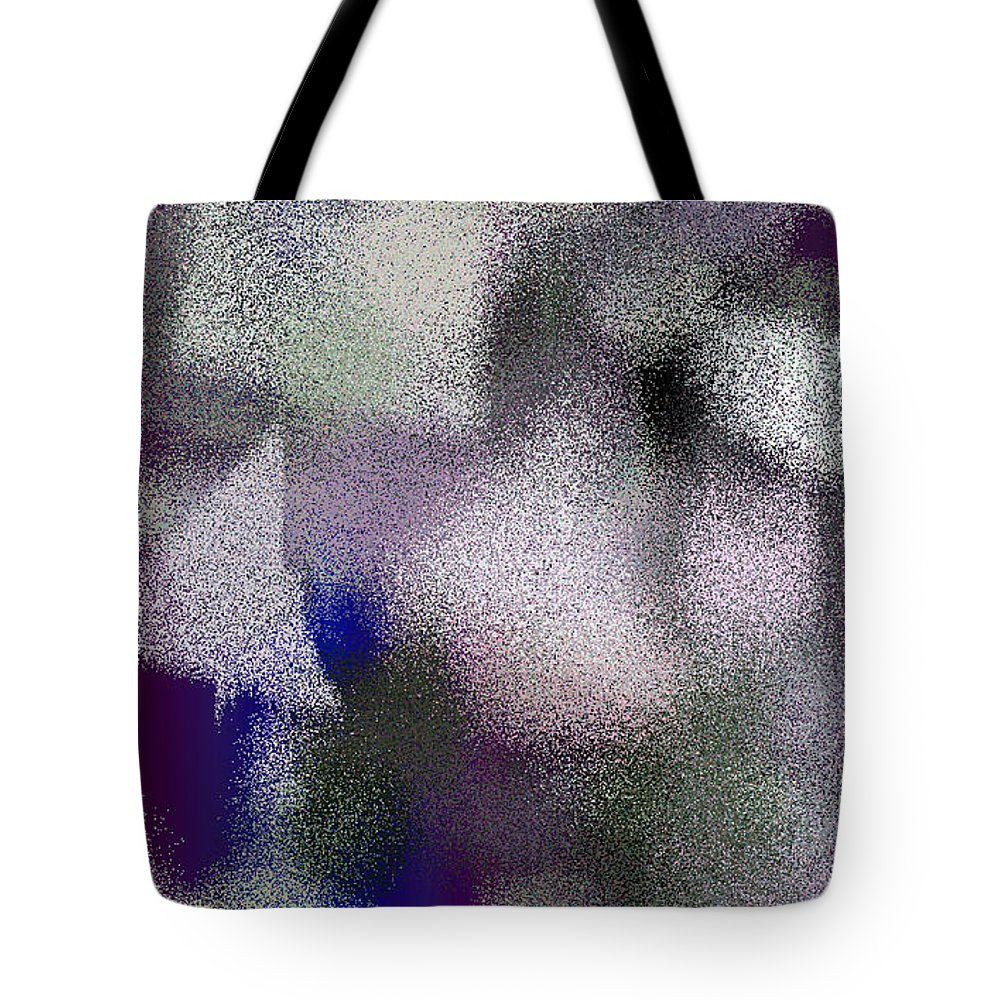 Abstract Tote Bag featuring the digital art T.1.58.4.3x5.3072x5120 by Gareth Lewis