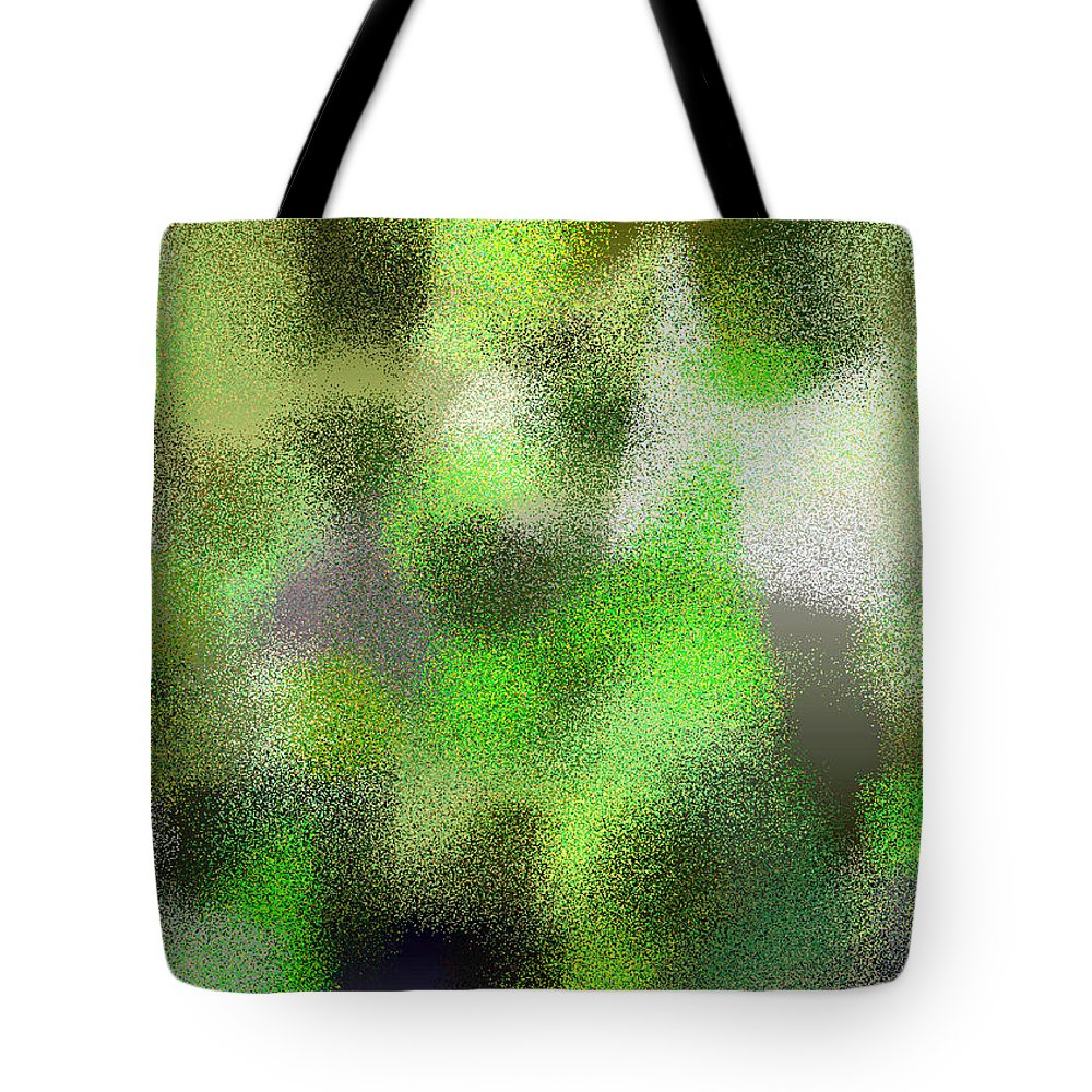 Abstract Tote Bag featuring the digital art T.1.63.4.7x5.5120x3657 by Gareth Lewis