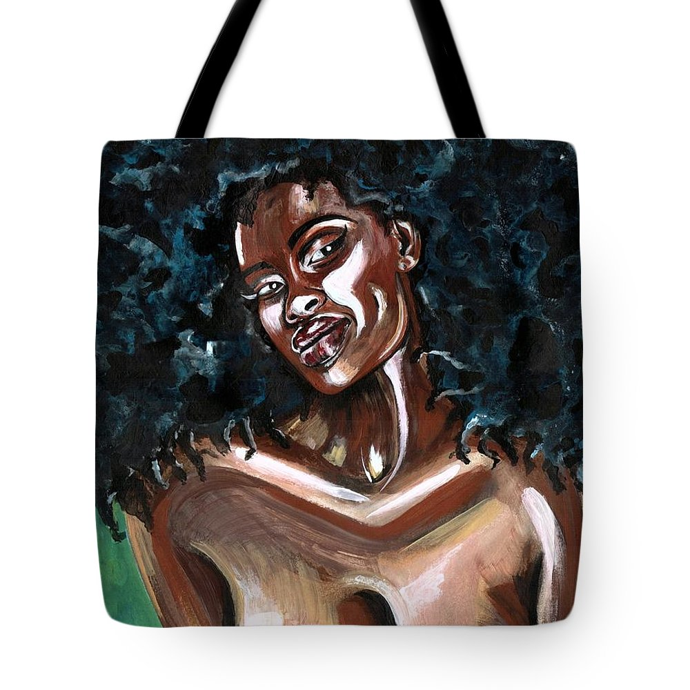 Sexy Tote Bag featuring the photograph Take Me as I AM -or have nothing at all by Artist RiA
