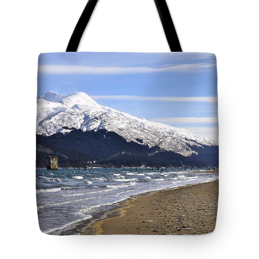 Wind Tote Bag featuring the photograph Taku Winds by Cathy Mahnke