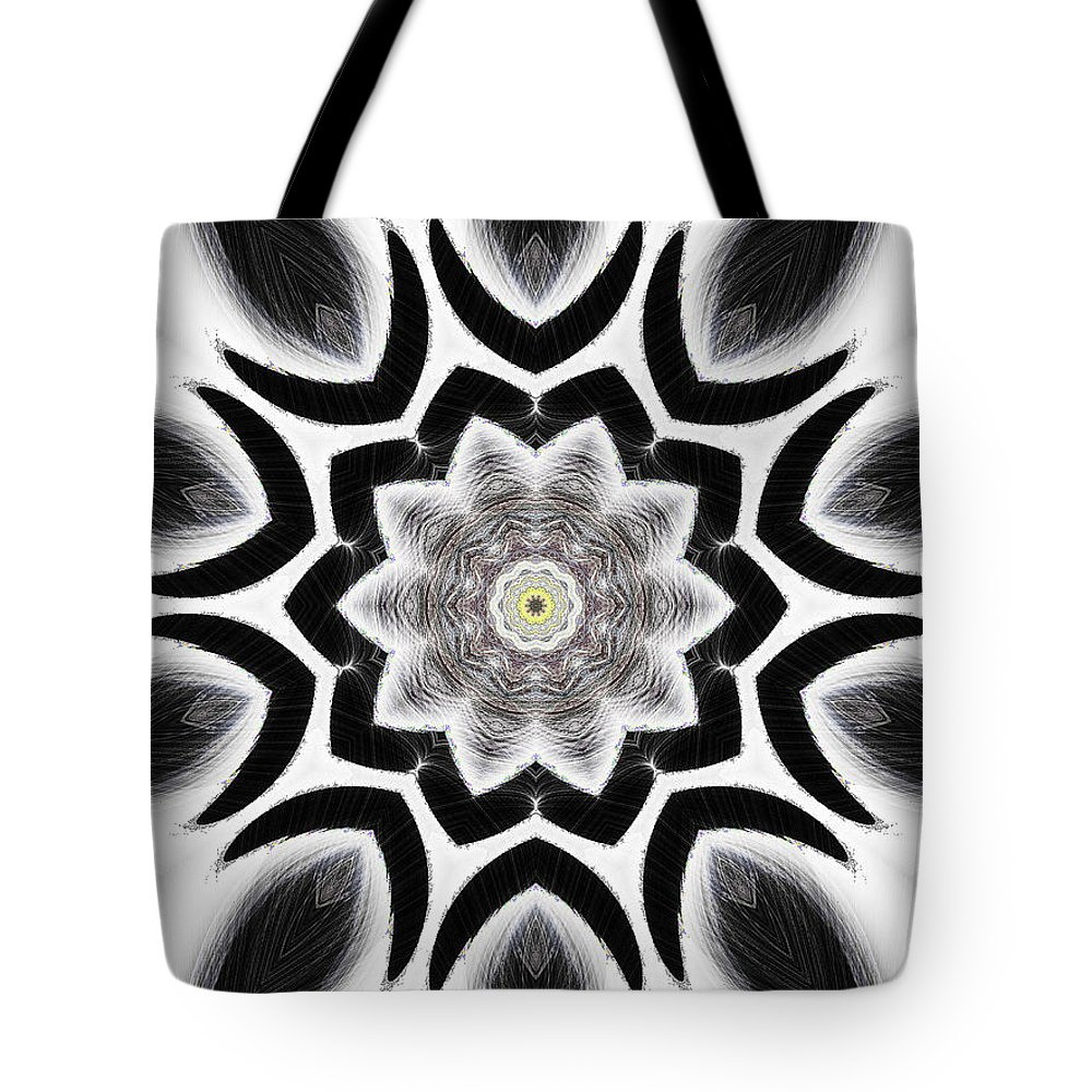 Tall Tote Bag featuring the digital art Tall Cool One by Michael Damiani