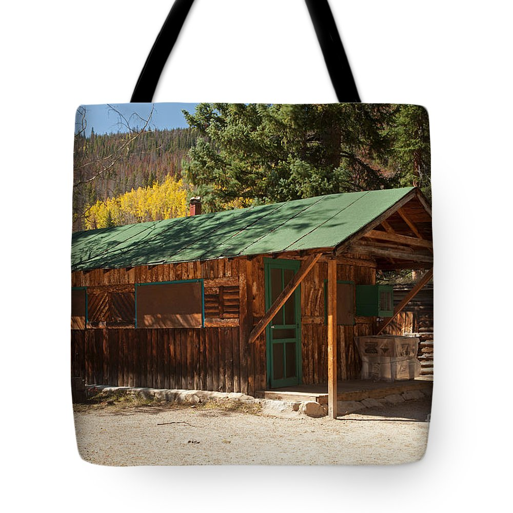 Afternoon Tote Bag featuring the photograph Taxidermyon The Holzwarth Historic Site by Fred Stearns