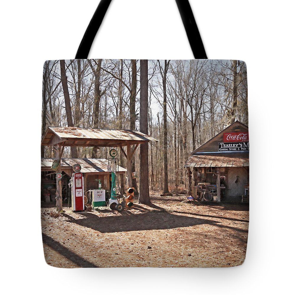 Alabama Tote Bag featuring the photograph Teasleys Mill by Donna Kennedy