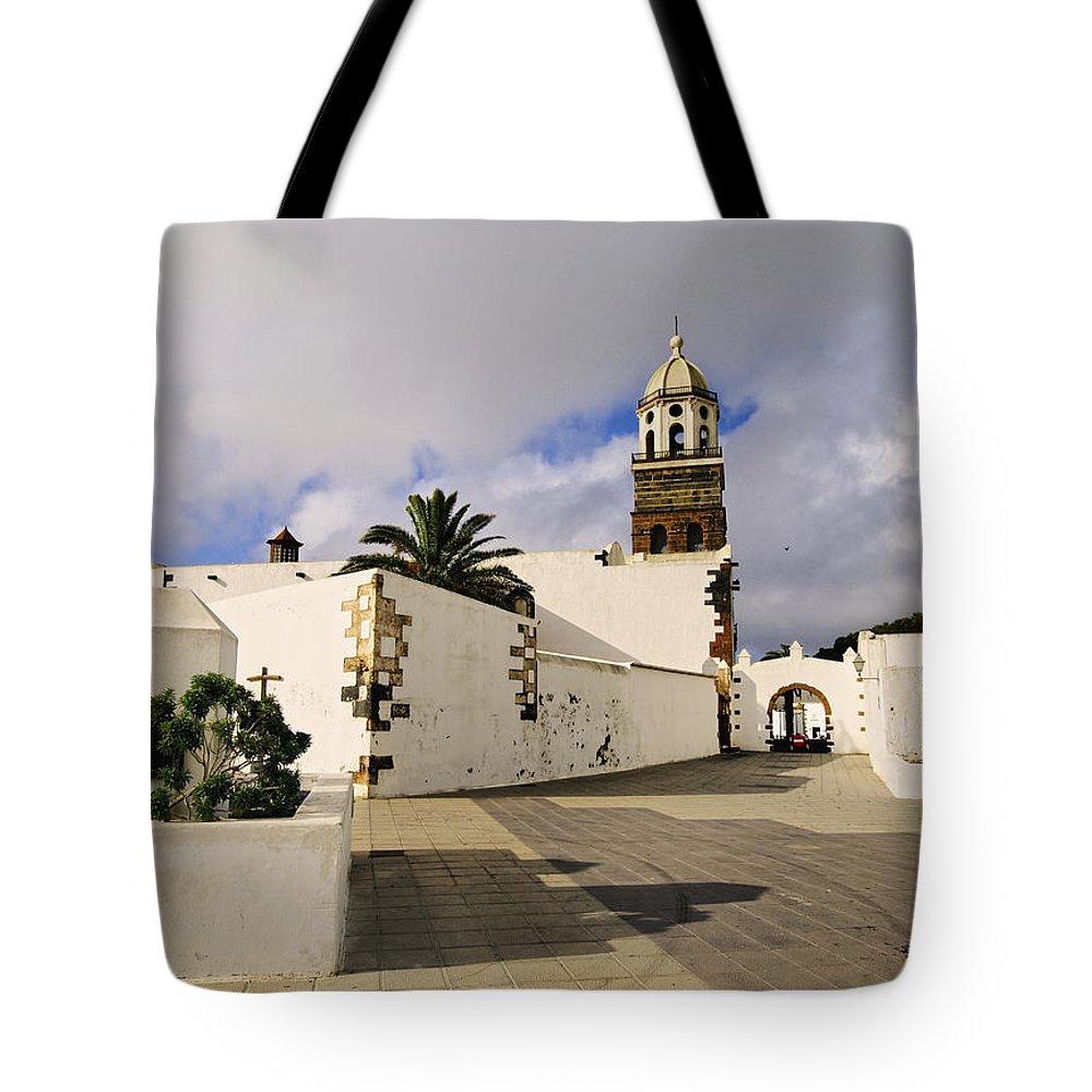 Lanzarote Tote Bag featuring the photograph Teguise On Lanzarote by Karol Kozlowski