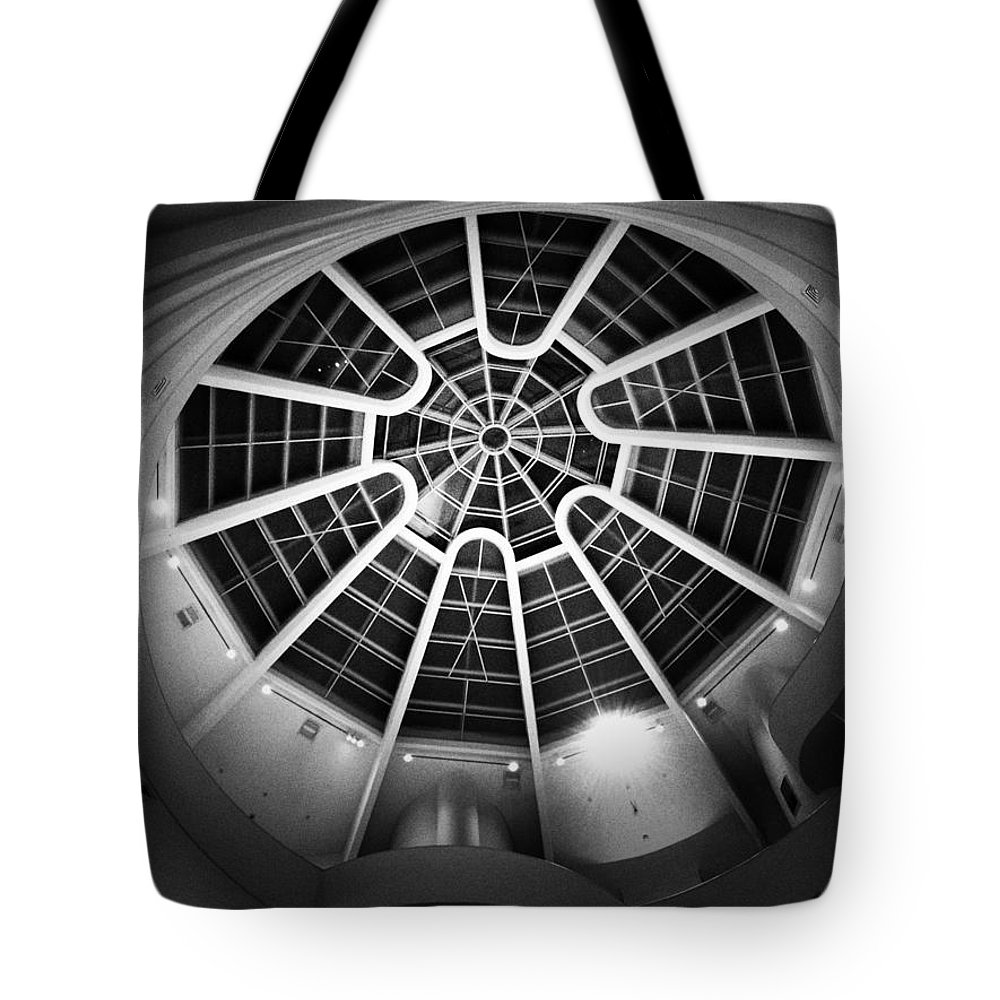 Guggenheim Tote Bag featuring the photograph Temple Of The Spirit by Natasha Marco