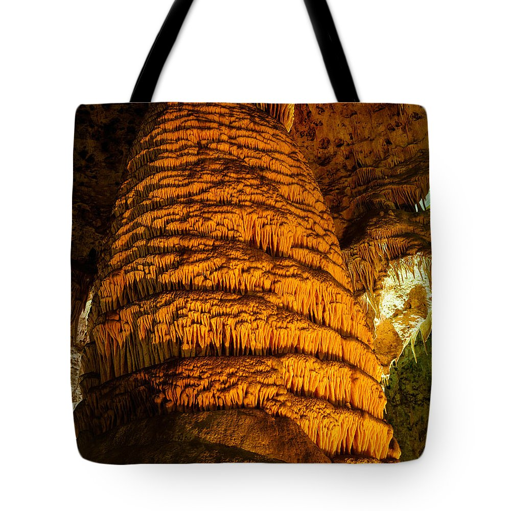 Carlsbad Caverns National Park Tote Bag featuring the photograph Temple Of The Sun by Tracy Knauer