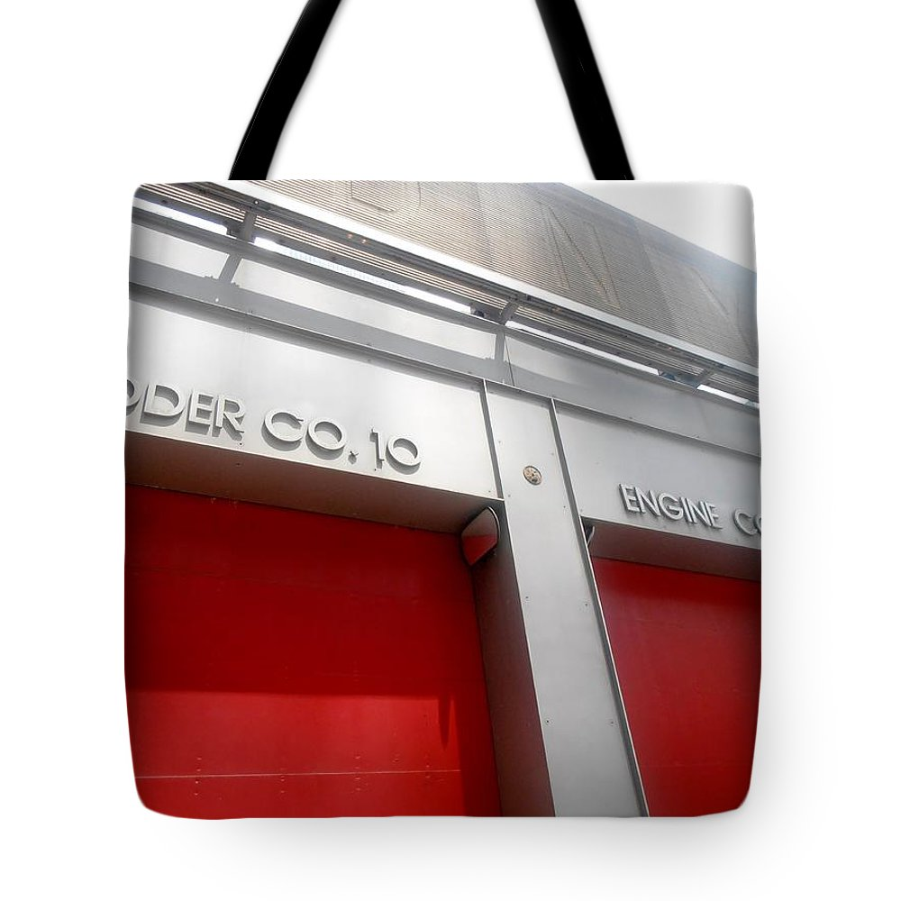 New York Tote Bag featuring the photograph Ten House by Martin Jones