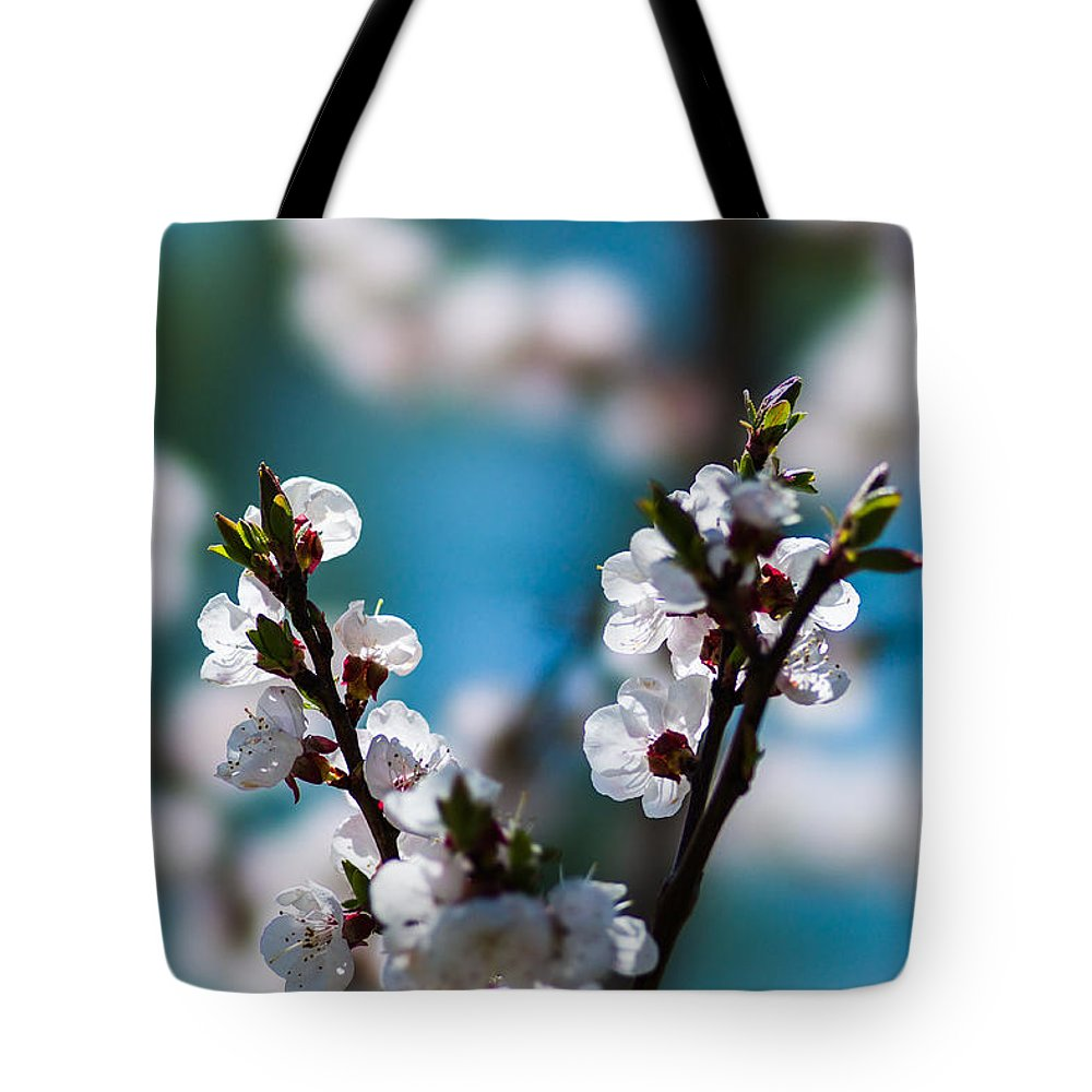 Featured Tote Bag featuring the photograph Tender Is The Day - Featured 3 by Alexander Senin