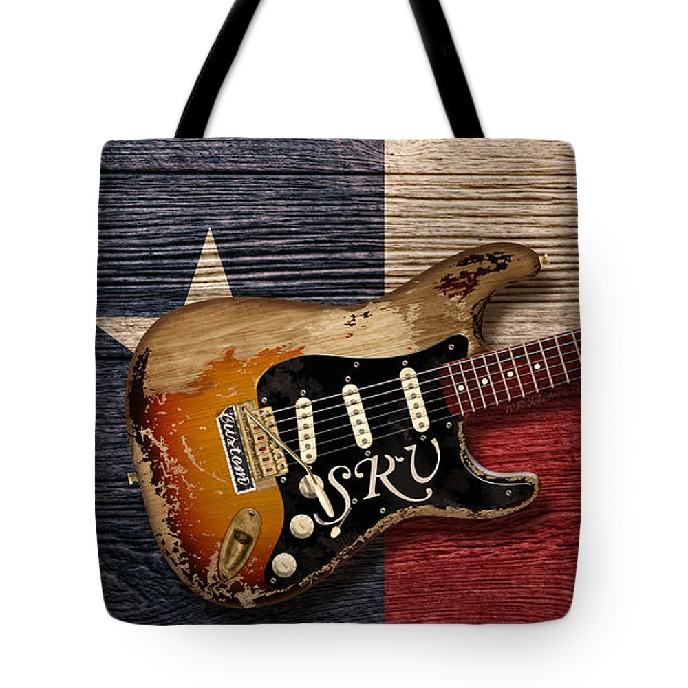 Blues Tote Bag featuring the digital art Texas Blues by WB Johnston