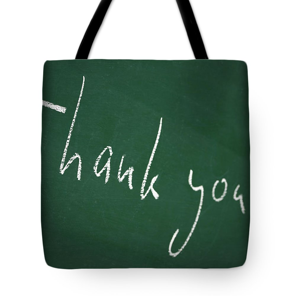 Thank You Tote Bag featuring the photograph Thank You by Chevy Fleet