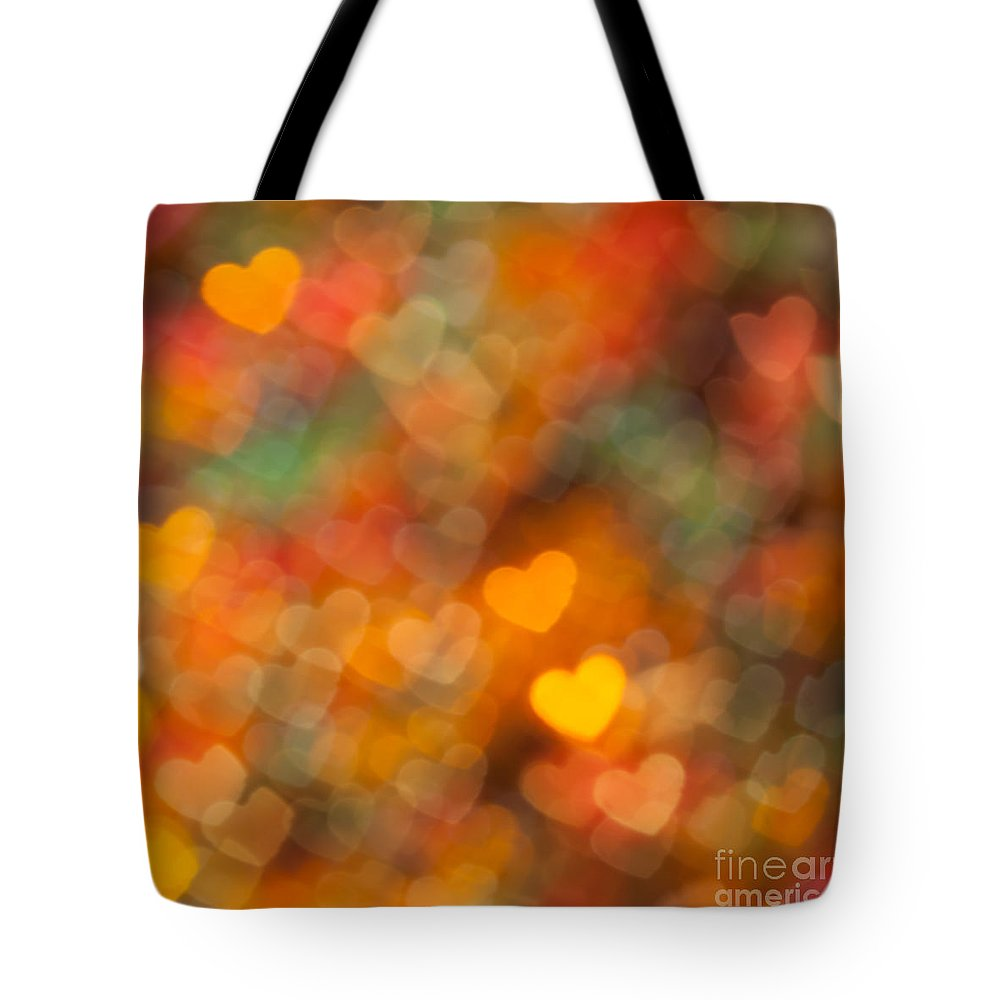 Abstract Tote Bag featuring the photograph Thanksgiving by Jan Bickerton