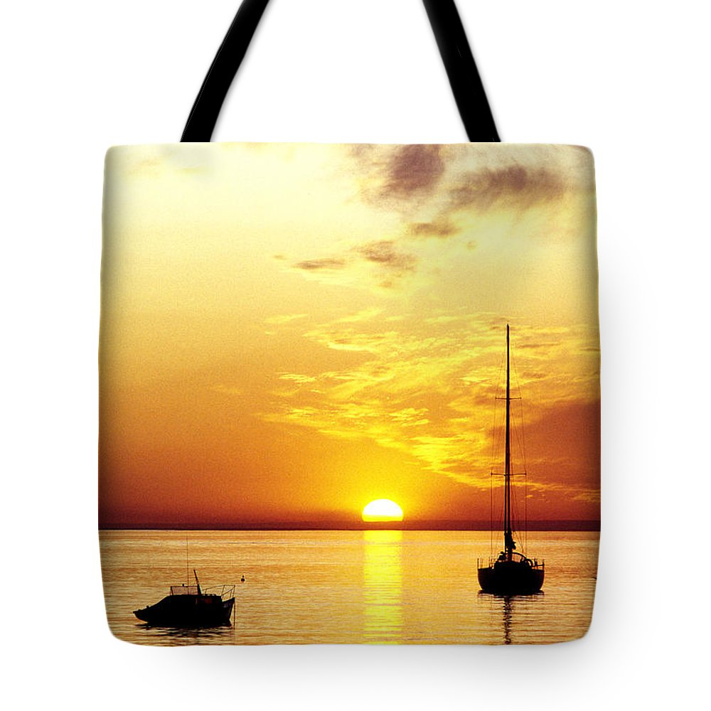 Sunset Tote Bag featuring the photograph That Sky by Anthony Davey