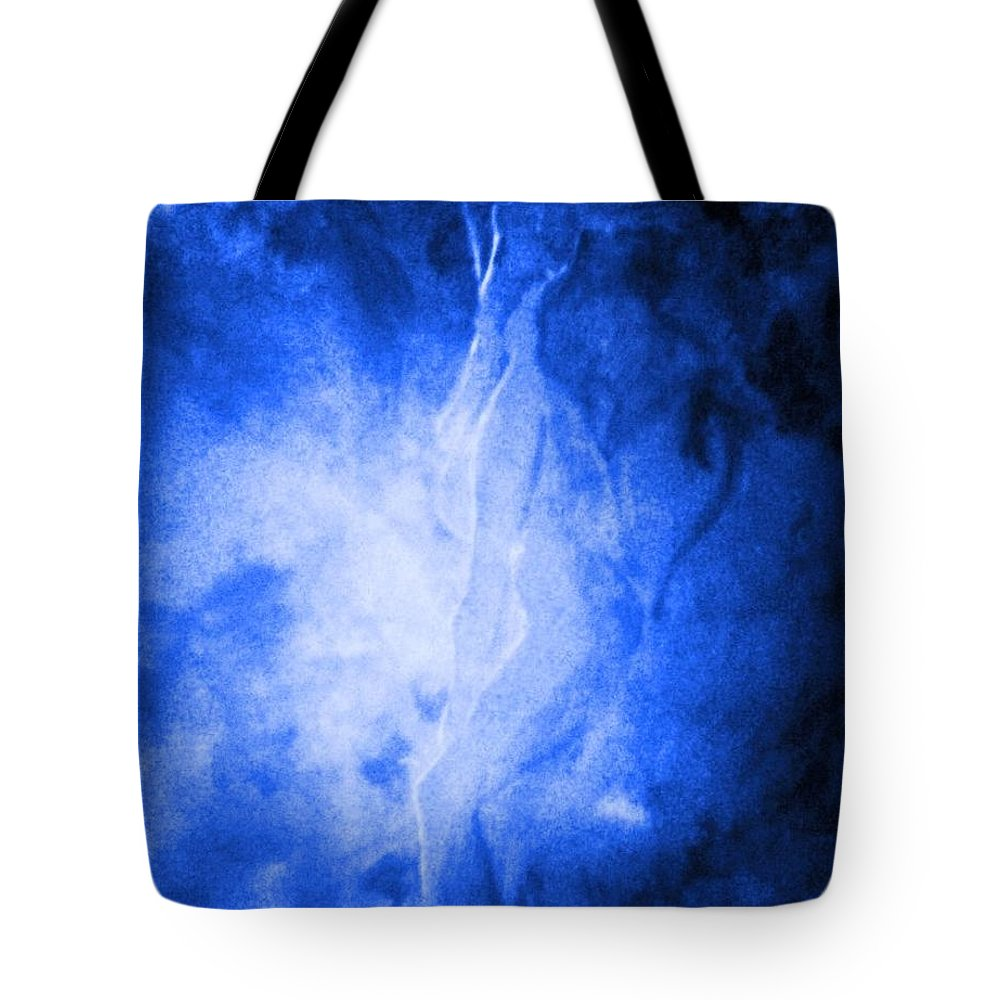 Woman Tote Bag featuring the painting The Agony And The Ecstasy by Stefan Duncan