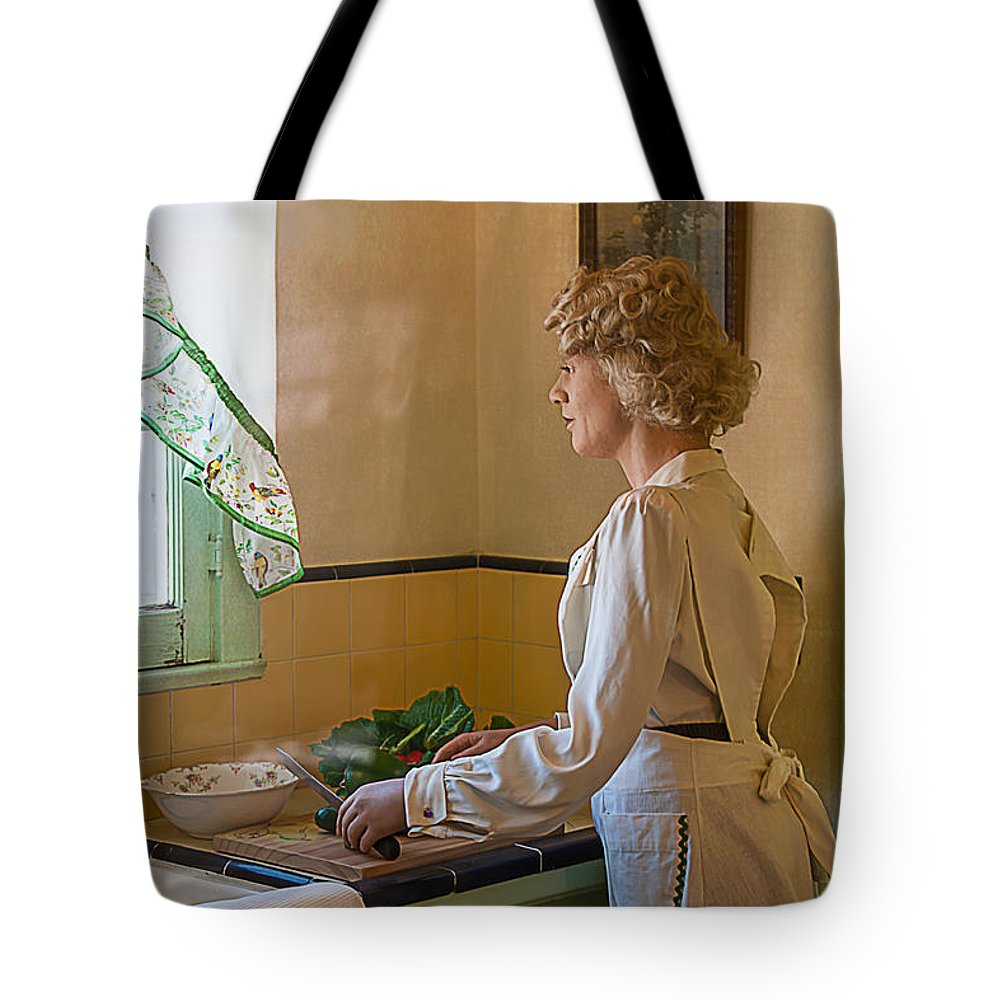 Woman Tote Bag featuring the photograph The American Dream by Gunter Nezhoda