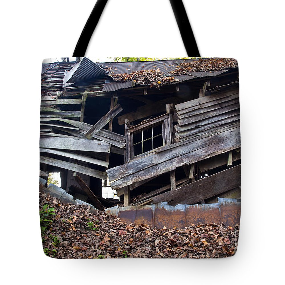 Old Tote Bag featuring the photograph The Art Of Decay II by Douglas Stucky