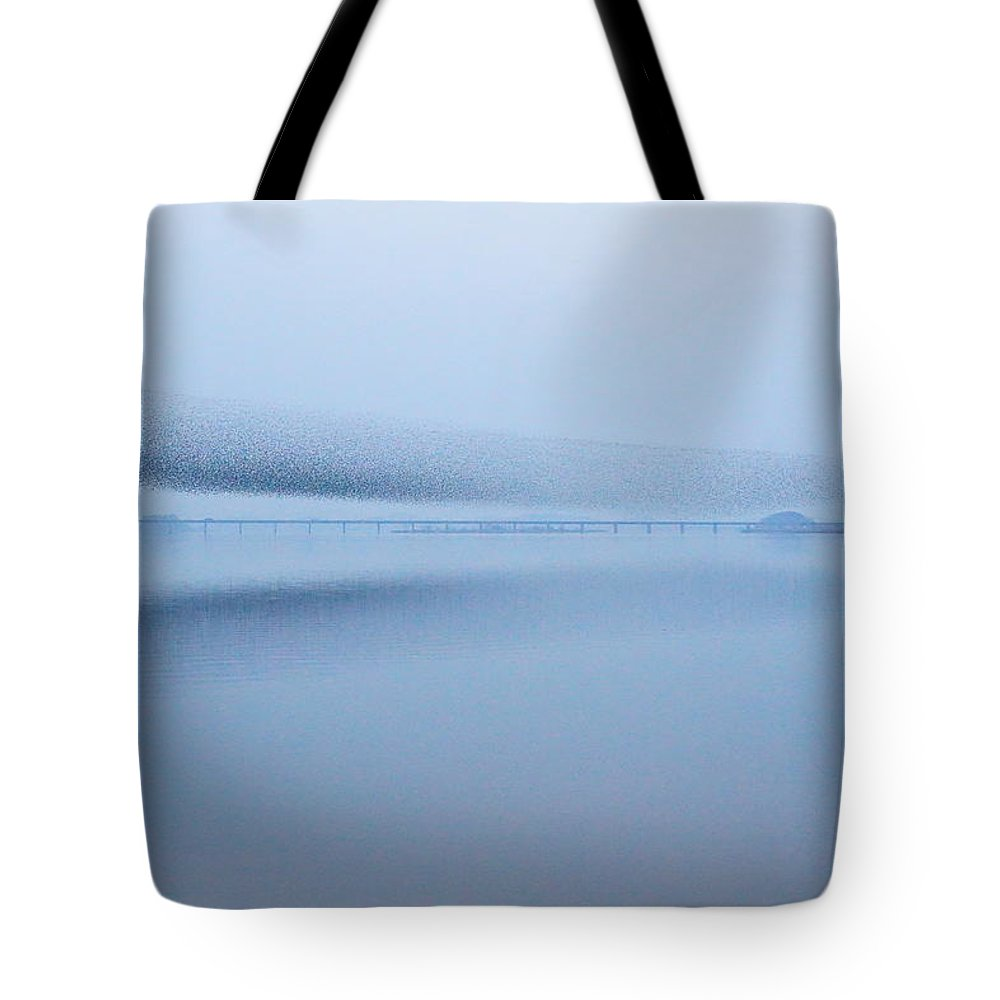 Scenics Tote Bag featuring the photograph The Baikal Teals 2 by Penboy