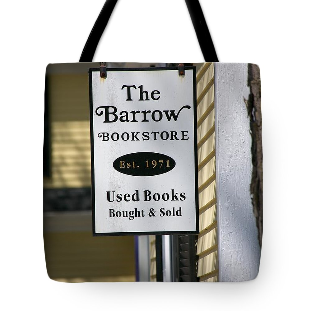 The Barrow Tote Bag featuring the photograph The Barrow by Allan Morrison