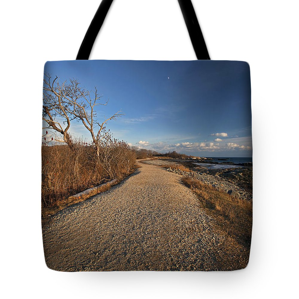 Beaten Path Tote Bag featuring the photograph The Beaten Path by Eric Gendron