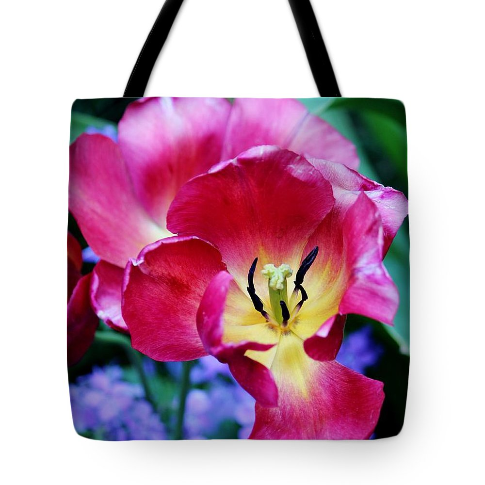 Flower Tote Bag featuring the photograph The Beauty Of Flowers by Cynthia Guinn