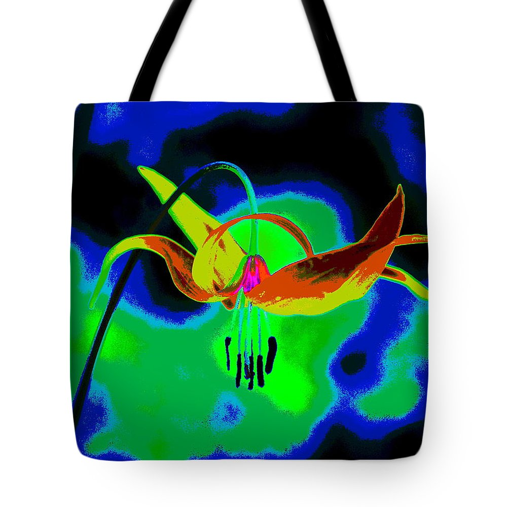 Flower Tote Bag featuring the photograph The Beauty Of Natural Grace by Ben Upham III
