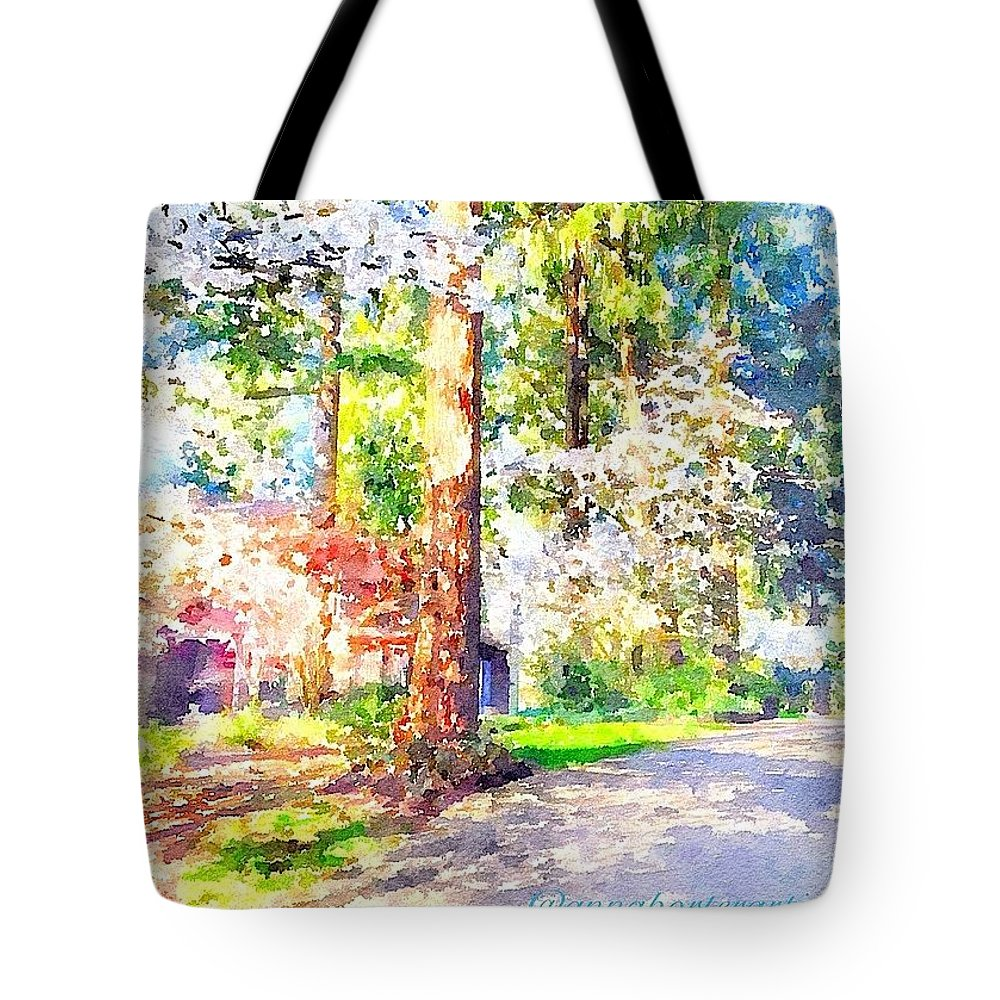 Spring Tote Bag featuring the photograph The Beauty Of Spring In Oregon by Anna Porter