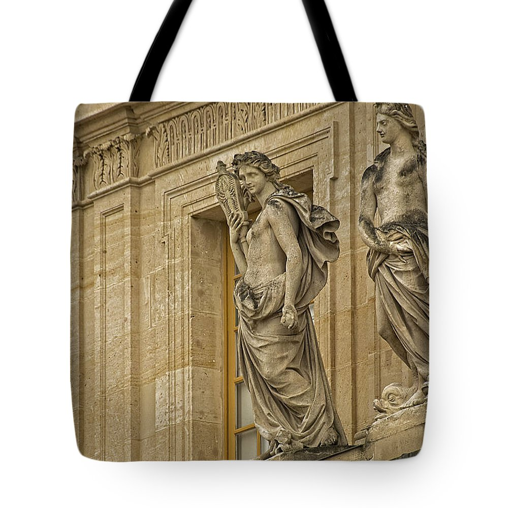 Versailles Tote Bag featuring the photograph The Beauty Of Versailles - 2 by Hany J