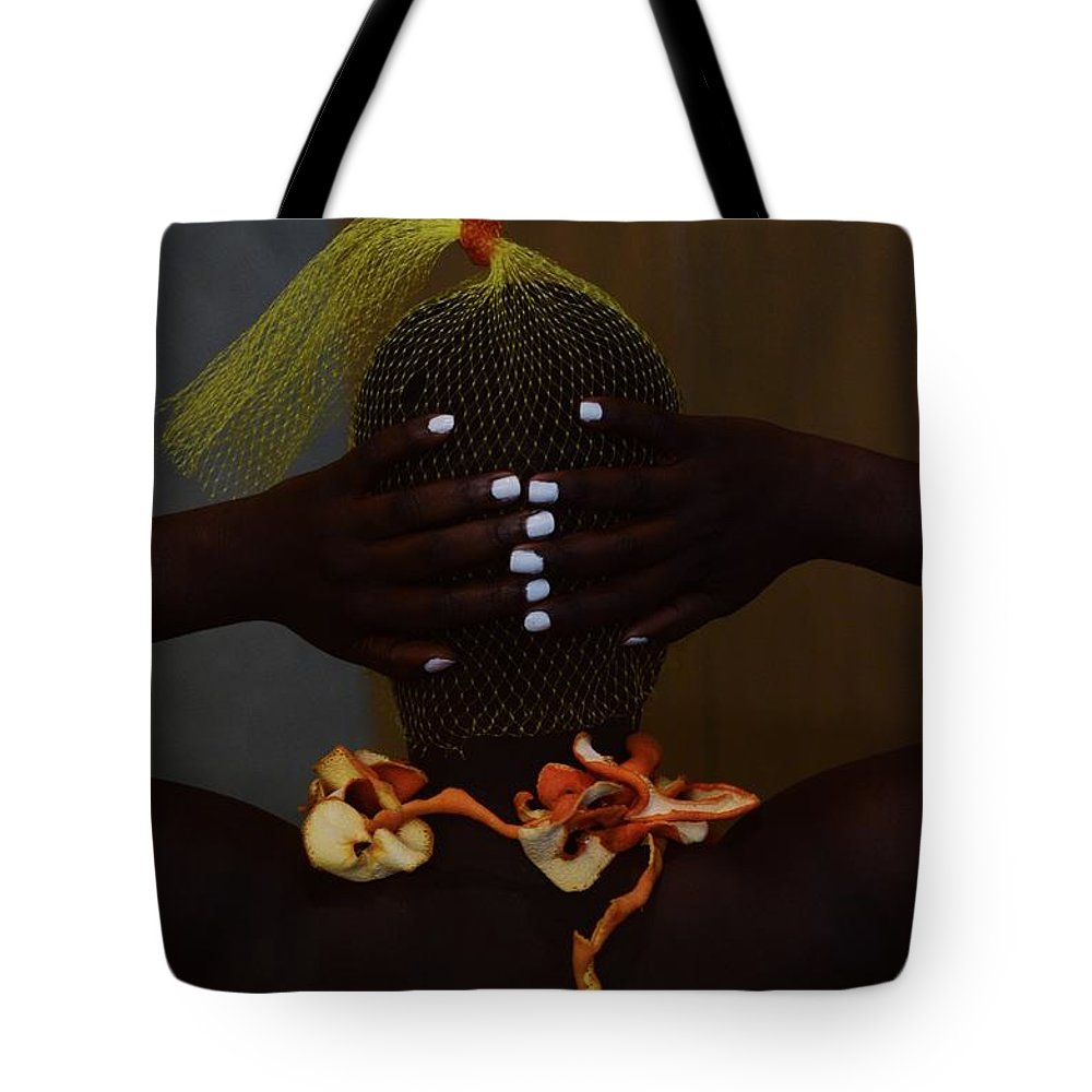Orange Color Tote Bag featuring the photograph The Black Victorian by Stephanie Nnamani