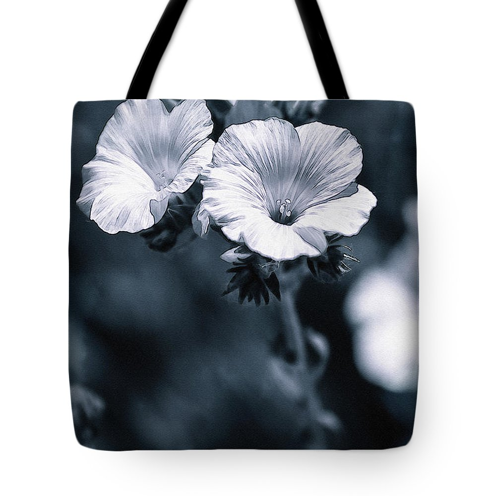 Photography Tote Bag featuring the photograph The Blues by Pati Photography