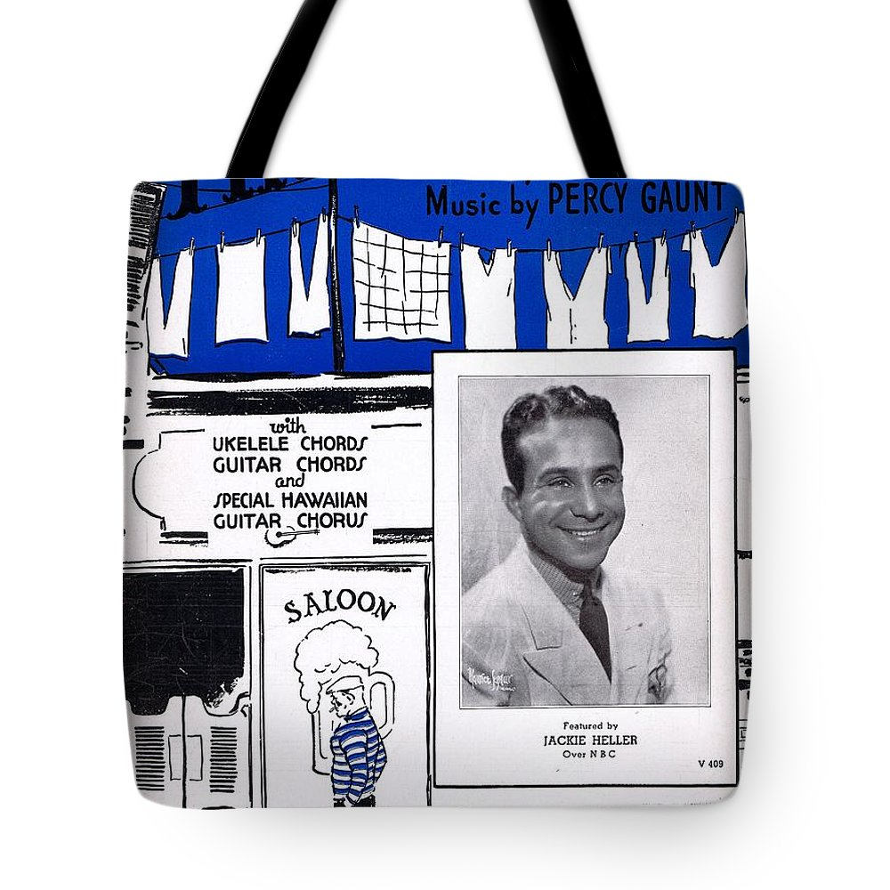 Nostalgia Tote Bag featuring the photograph The Bowery by Mel Thompson