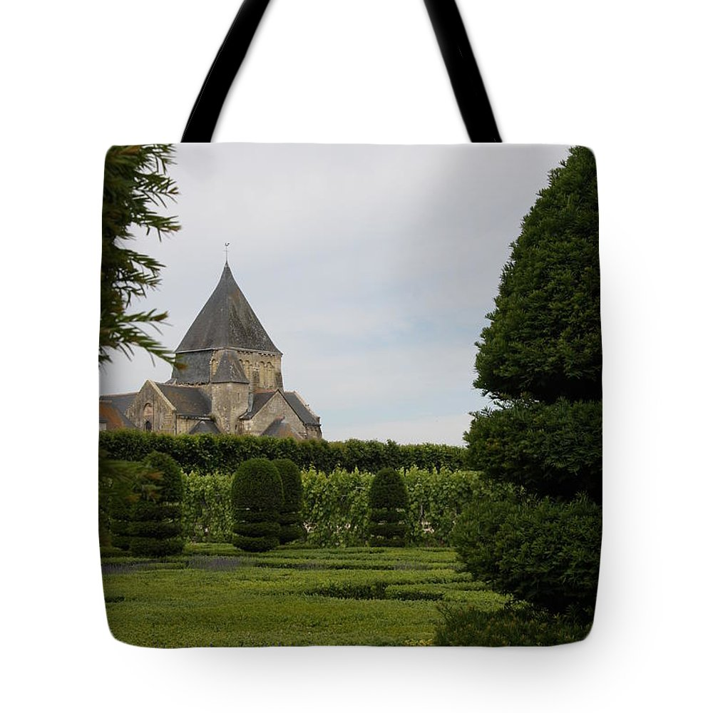 Boxwood Tote Bag featuring the photograph The Boxwood Garden - Villandry by Christiane Schulze Art And Photography
