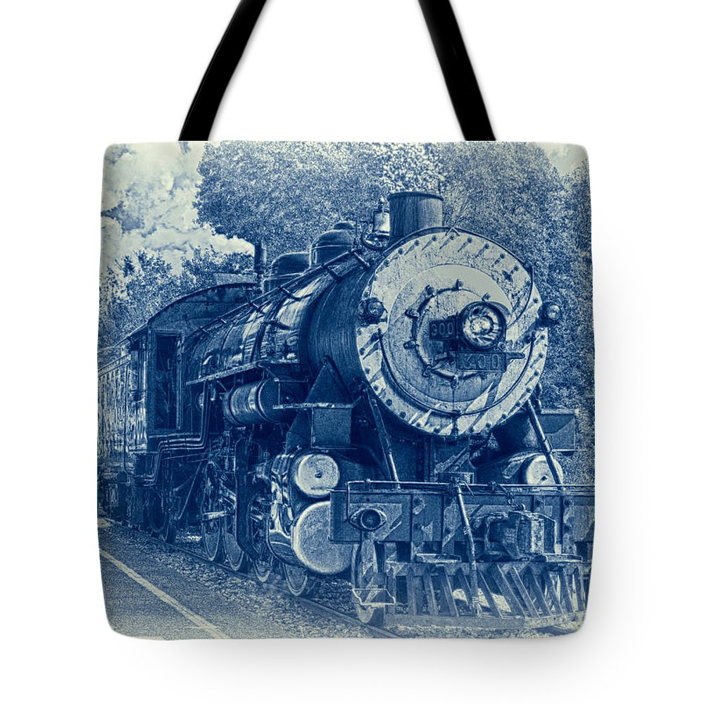 Brakeman Tote Bag featuring the photograph The Brakeman - Vintage by Robert Frederick
