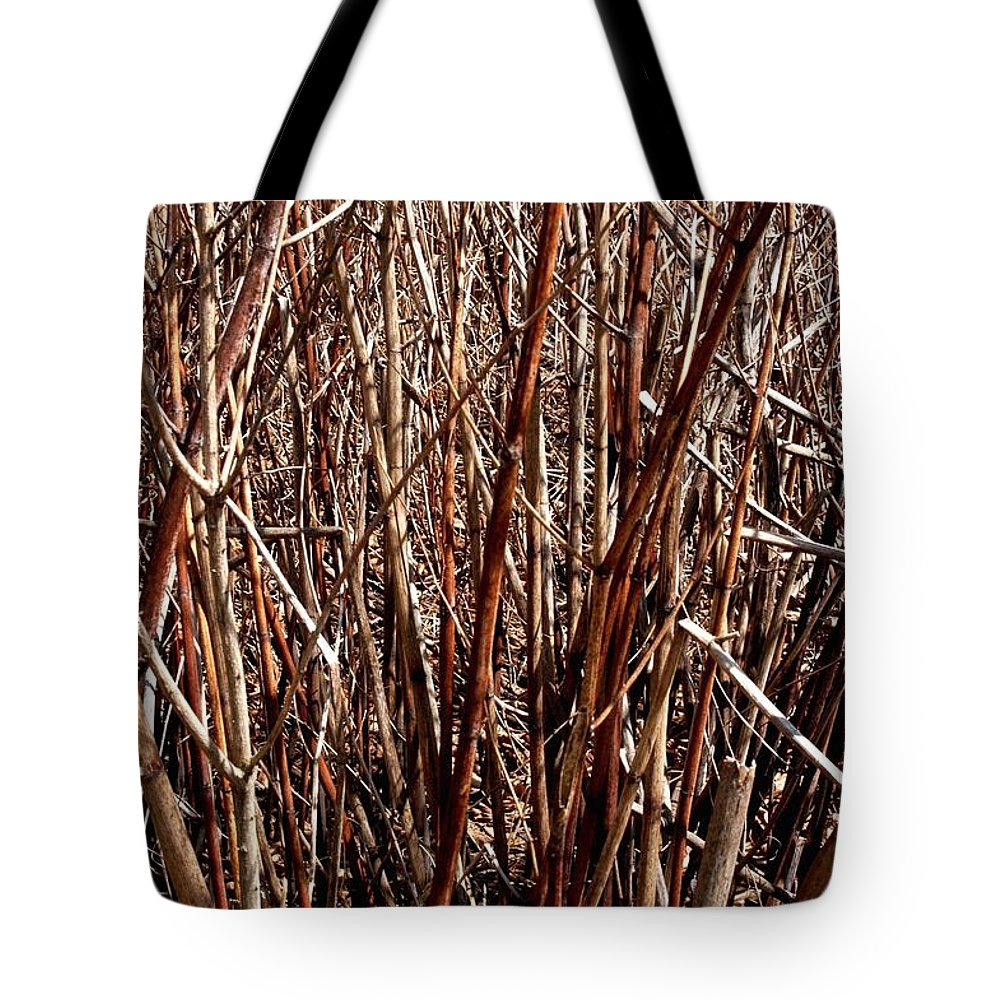 Branches Tote Bag featuring the photograph The Breaks by Joseph Yarbrough