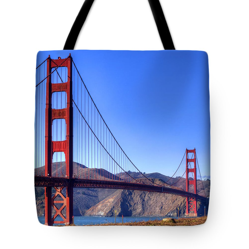 Golden Gate National Recreation Area Photographs Tote Bags