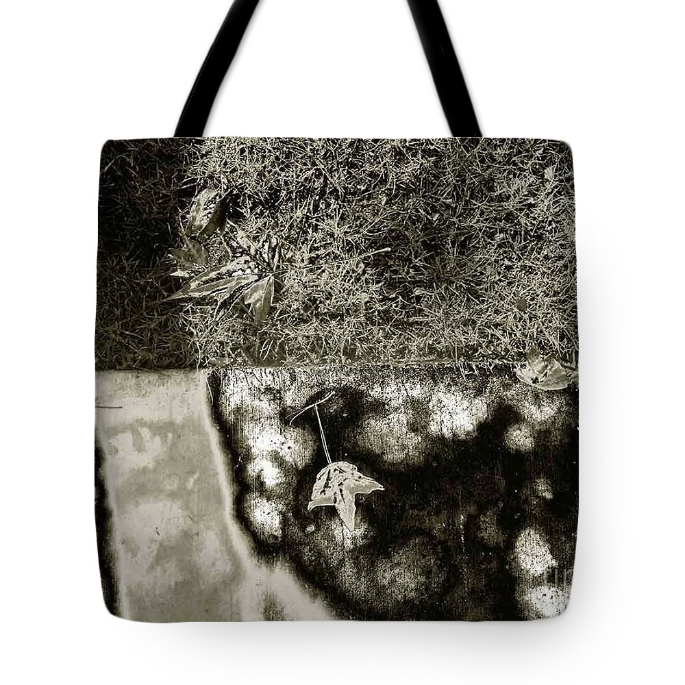 Nature Tote Bag featuring the photograph The Burning Shadows by Fei A