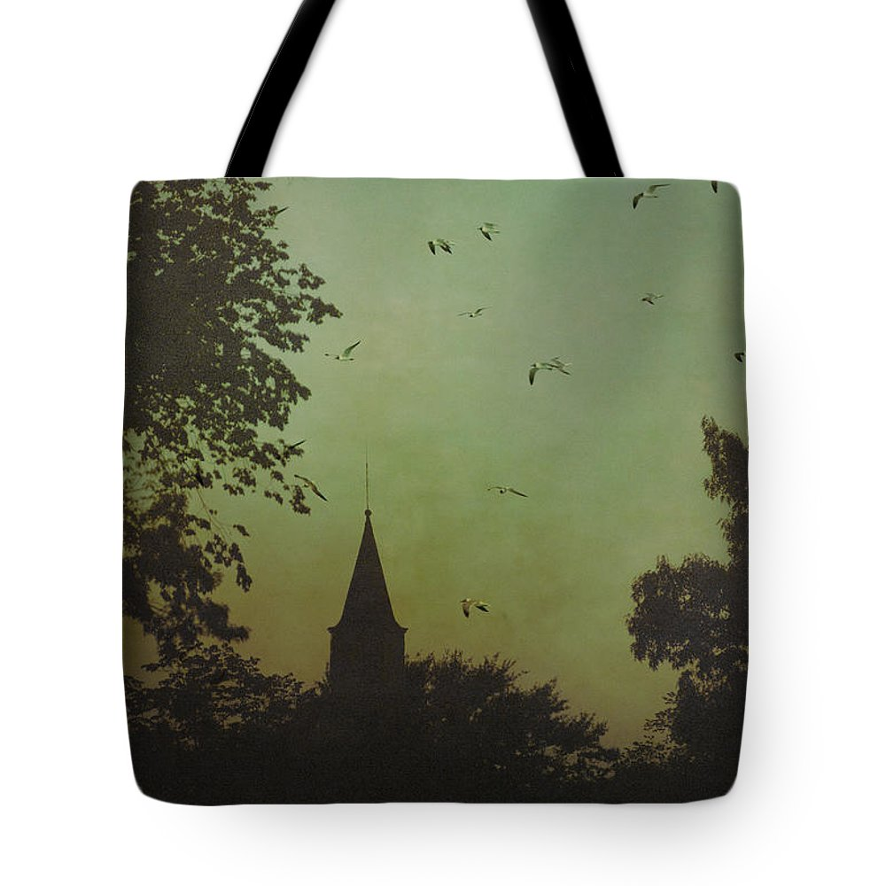 Church Tote Bag featuring the photograph The Calling by Margie Hurwich