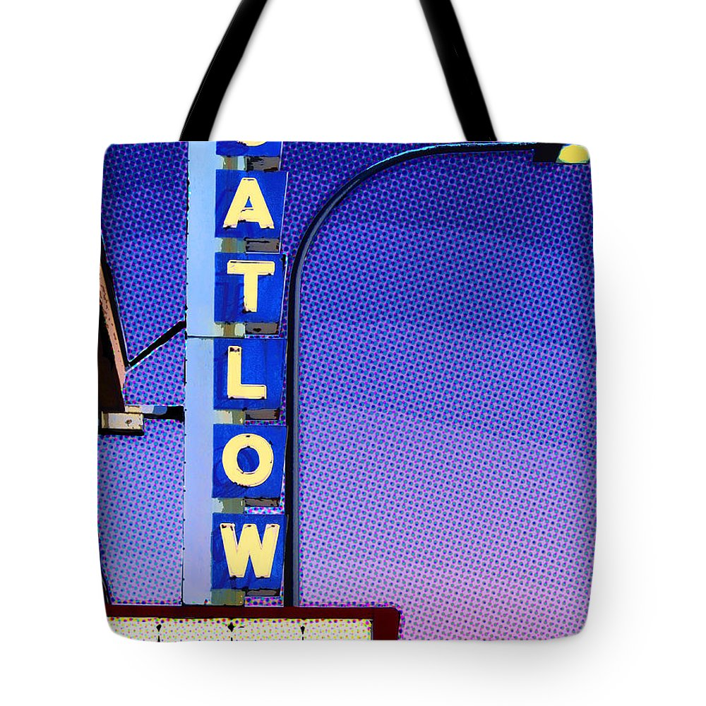 The Catlow Tote Bag featuring the mixed media The Catlow by Dominic Piperata