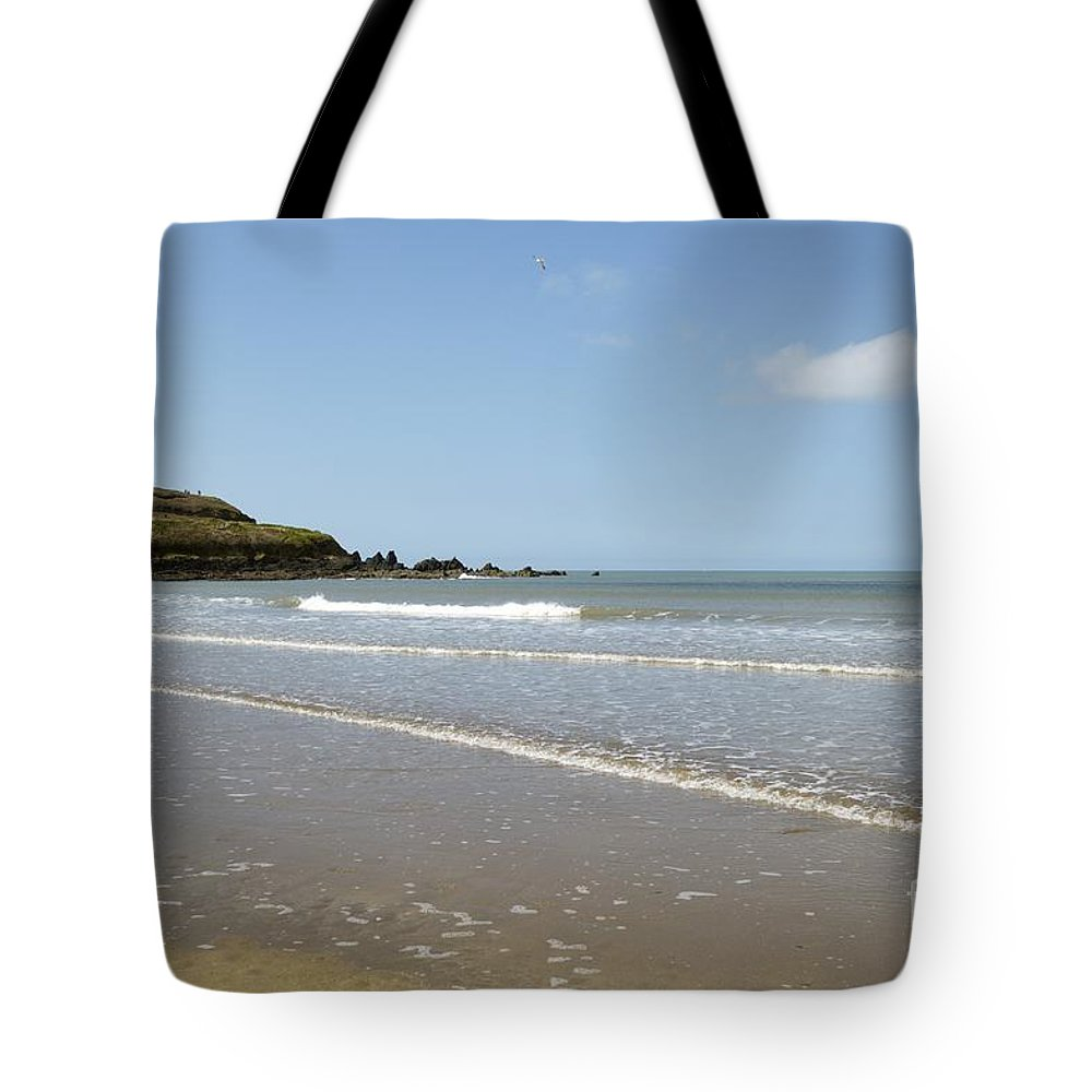 The Tote Bag featuring the photograph The Causeway by Wendy Wilton