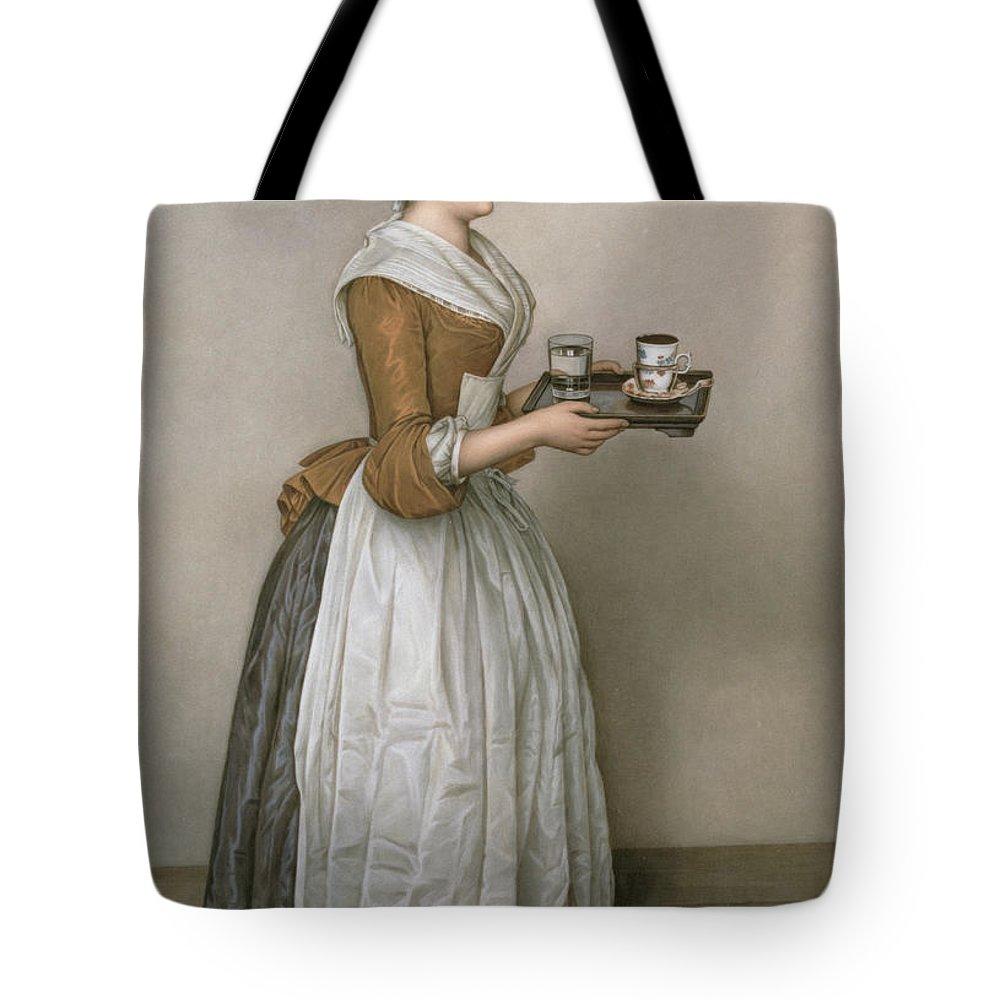 Tea Cup Tote Bags