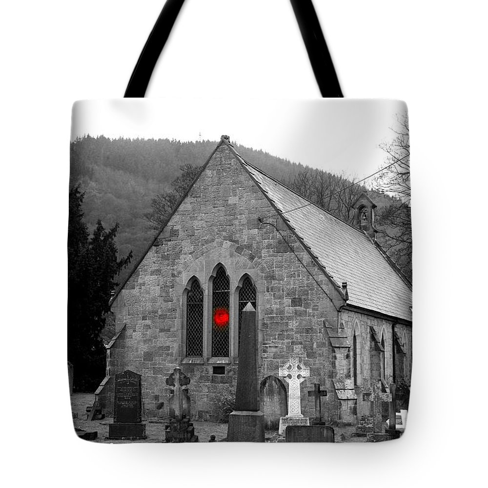 Church Tote Bag featuring the photograph The Church by Christopher Rowlands