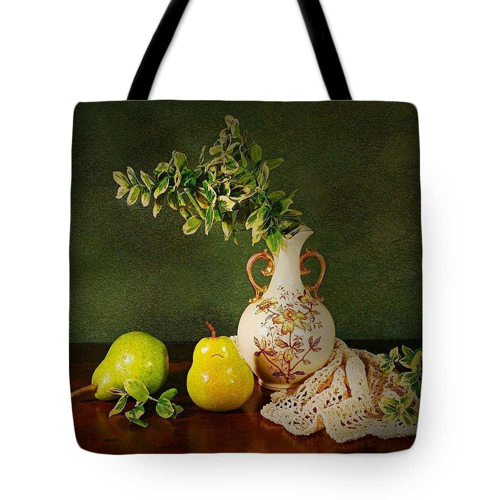 Still Life Tote Bag featuring the photograph The Classical Urn by Diana Angstadt