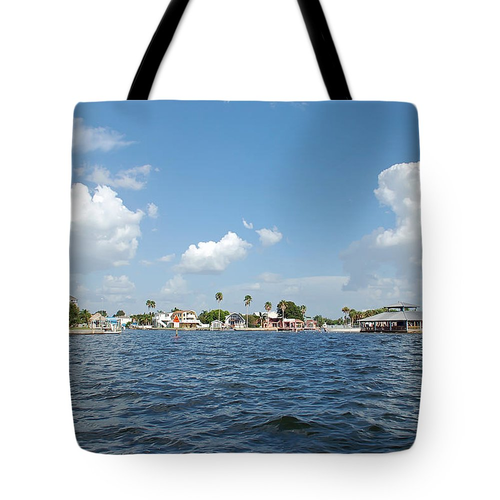 Hudson Tote Bag featuring the photograph The Coast Of Hudson Beach Florida by Aimee L Maher ALM GALLERY
