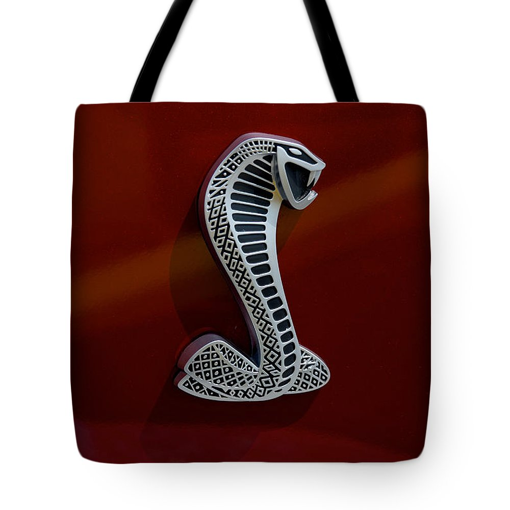 Car Tote Bag featuring the photograph The Cobra by Mark Dodd